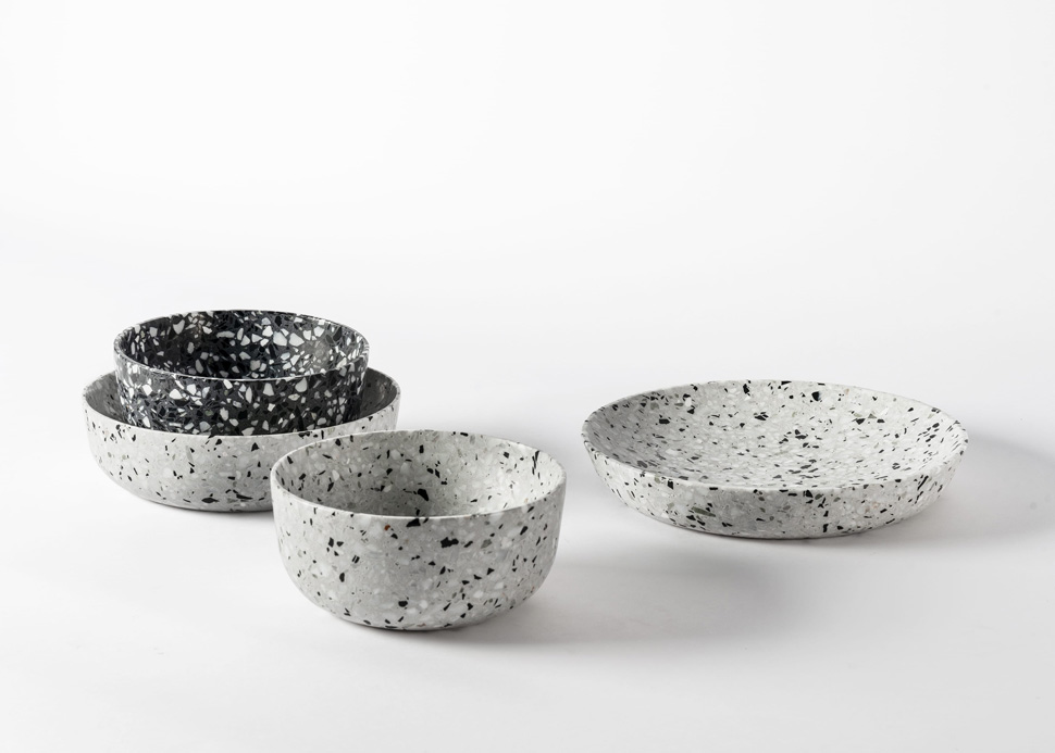 terrazzo serving dishes 6